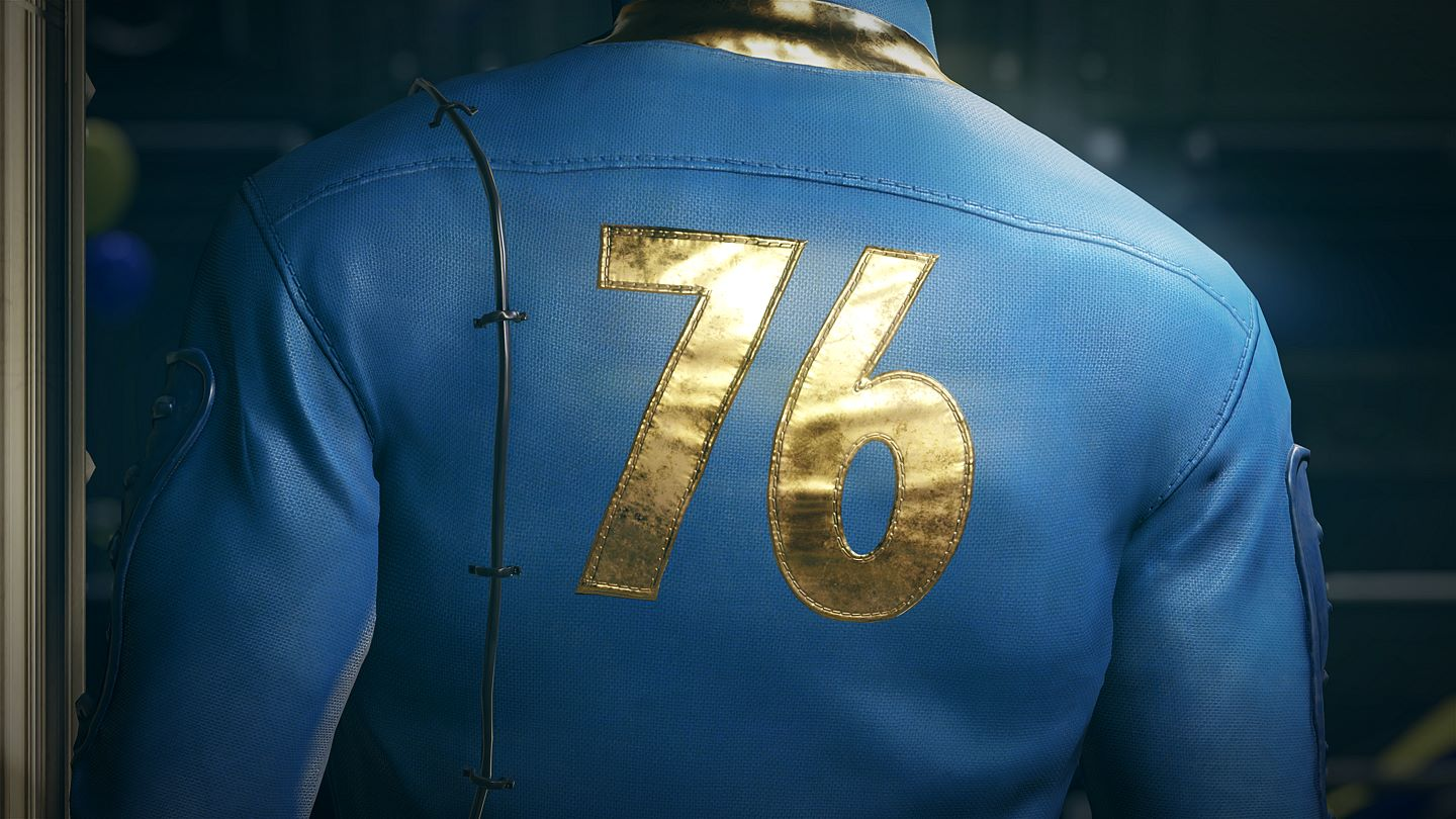 Fallout 76 only has 247 megabytes of data on the disc ...
