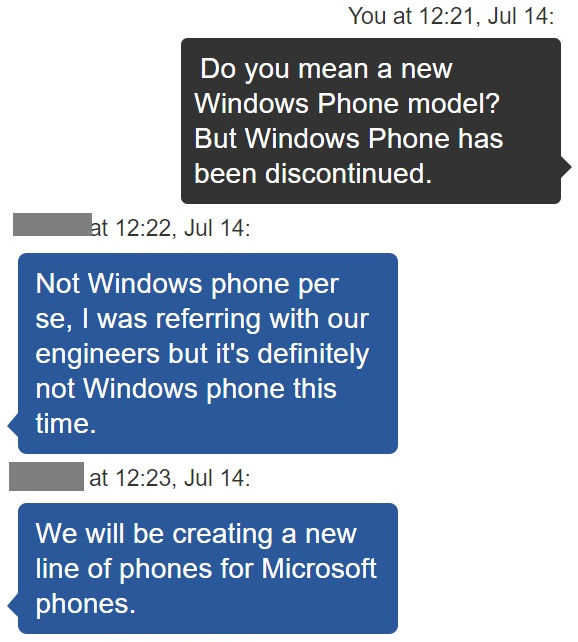 Rumour: Microsoft to release a Microsoft-branded Android phone 3