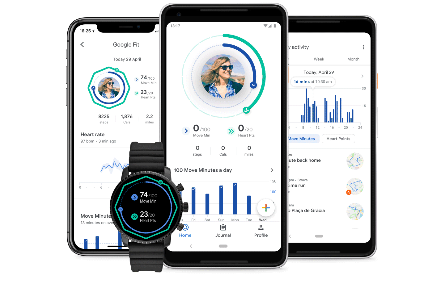 Google announces the redesigned Google Fit experience 1