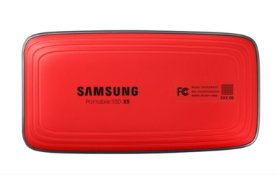 Samsung's new Portable SSD X5 packs Thunderbolt 3 and NVMe technology in an attractive design 1