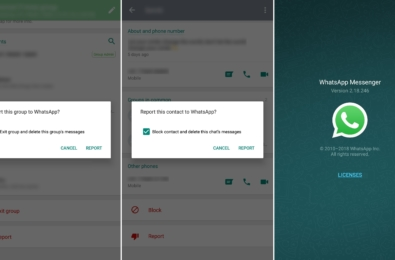 WhatsApp for Android improves the report feature in the latest Beta update 9