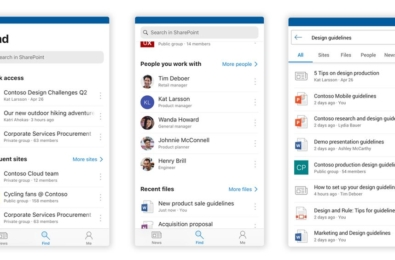 Microsoft releases redesigned SharePoint mobile app 13