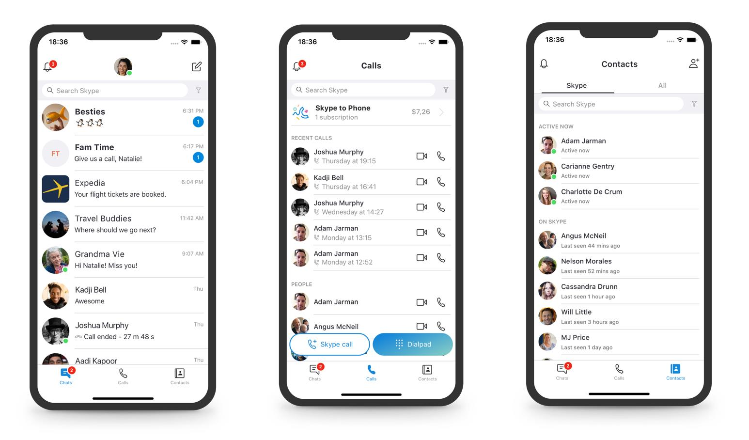 As Microsoft continues to listen, Skype gets a number of usability improvements 2
