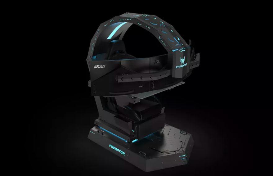 Acer unveils unwieldy Predator Thronos gaming chair 1