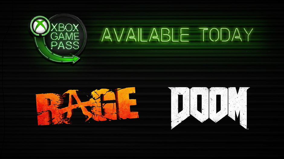 photo image DOOM and Rage are now on Xbox Game Pass