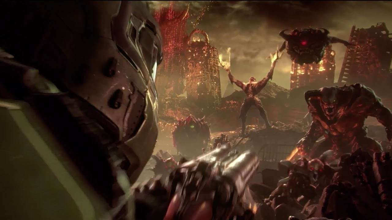 photo image DOOM Eternal gets bloody gameplay footage