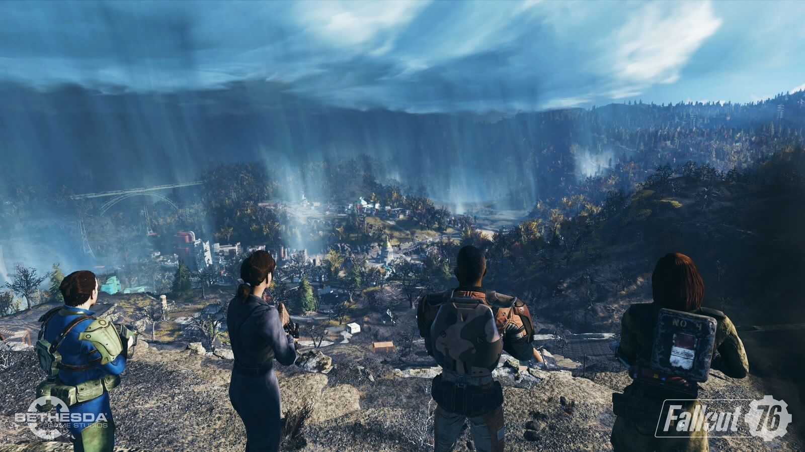 Fallout 76 uses strict bounty system to discourage killing innocent players