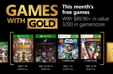 September's Games with Gold include Prison Architect and LEGO Star Wars III: The Clone Wars 10