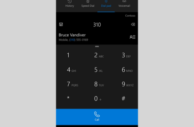 Microsoft updates their Phone app with design changes 25