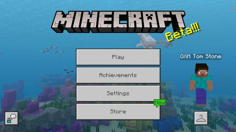 Minecraft Bedrock Edition Is Getting Redesigned Menus Mspoweruser