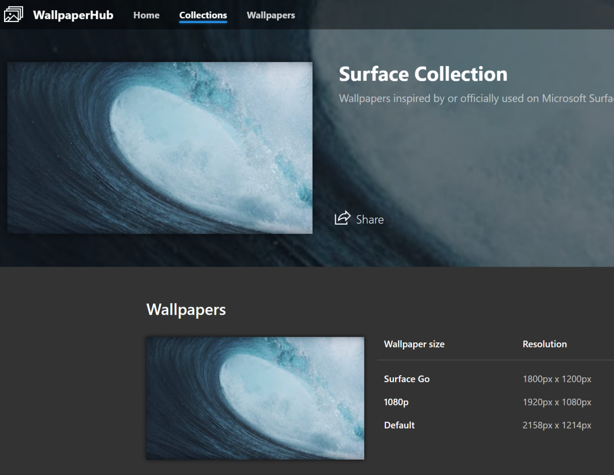 New One Stop Shop For Surface Wallpaper And More Mspoweruser