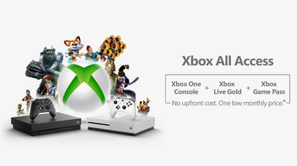 Xbox All Access console, Game Pass, and Live Gold bundle confirmed