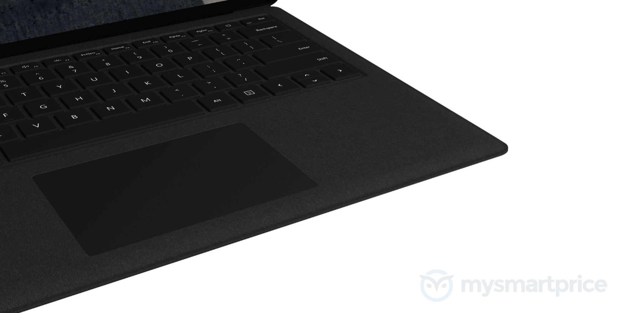 Updated Surface Laptop leaks murdered out in black 4