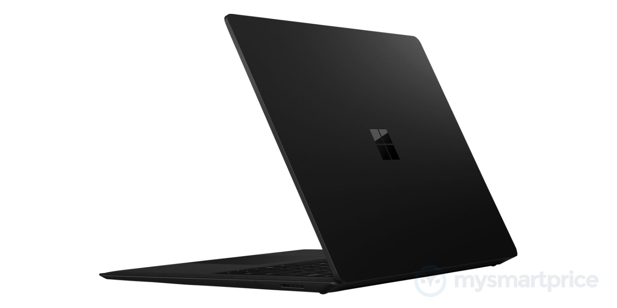 Updated Surface Laptop leaks murdered out in black 1
