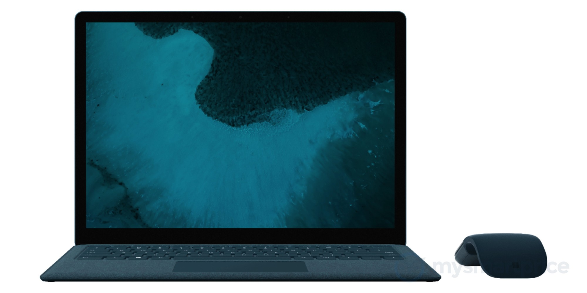 Updated Surface Laptop leaks murdered out in black 10