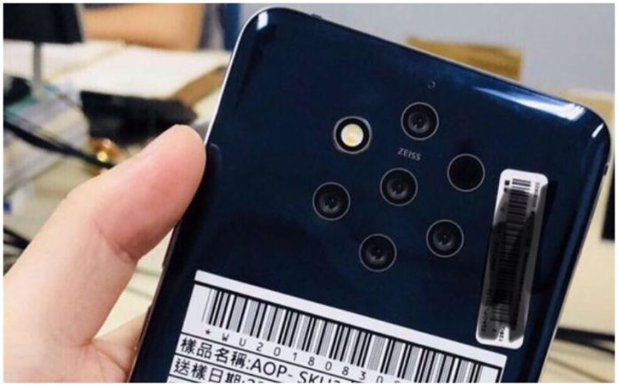 Nokia might launch its penta-lens camera phone in February 2019