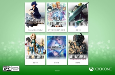 Several Final Fantasy titles are coming to Xbox One soon 2