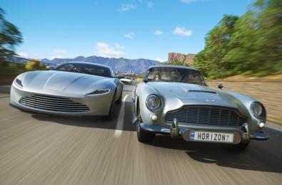 Forza Horizon 4 showcases iconic James Bond cars 1