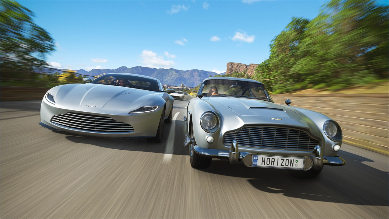 forza horizon 4 showcases iconic james bond cars mspoweruser. Black Bedroom Furniture Sets. Home Design Ideas