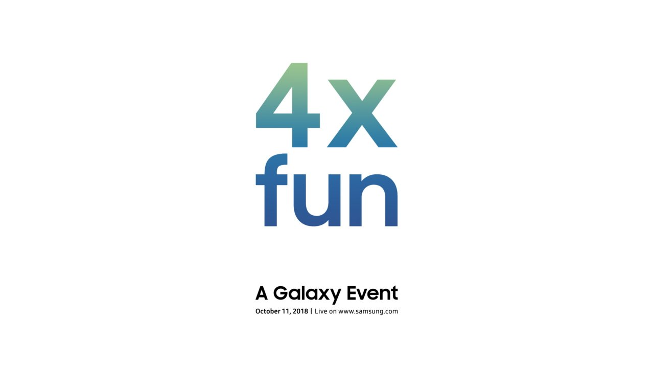 Samsung teases a '4x fun' Galaxy Event in October
