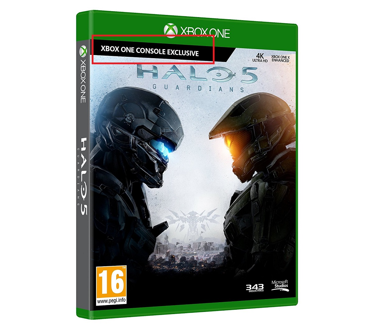 Box Art Once Again Suggests Halo 5: Guardians Is Coming To