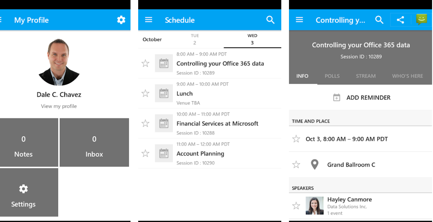 9d8f18298abb If you are planning to attend Ignite Microsoft has a new app for you that  will help you plan your visit. The MSFT Events app was introduced for  Inspire and ...
