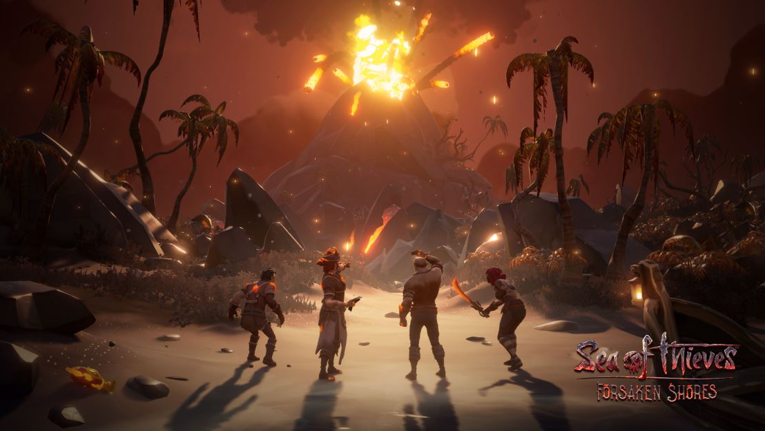 Sea Of Thieves Forsaken Shores Update Is Now Available