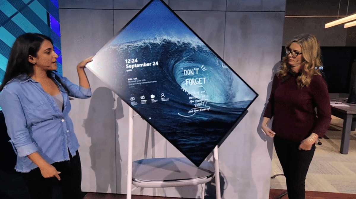 photo of Microsoft details the new Surface Hub 2S (video) image