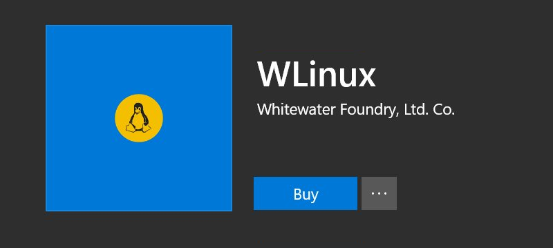 Linux distro specifically designed for Windows Subsystem for