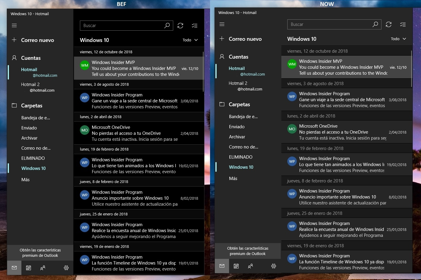 Mail and Calendar app finally gets full-fledged dark mode in the latest update 1