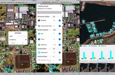 Microsoft Garage's Earth Lens app can be used to analyze objects in aerial imagery 13