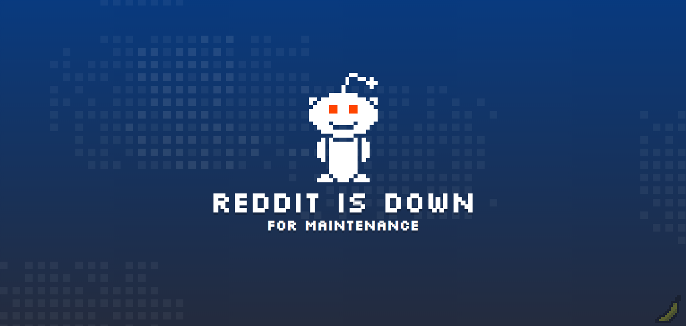 Update: It's back] Reddit goes down, apparently for
