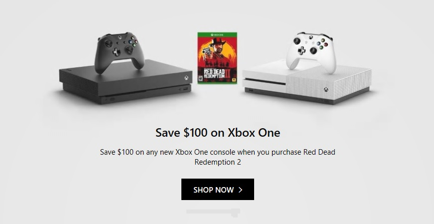Deal: Save $100 on Xbox One when you buy Red Dead Redemption