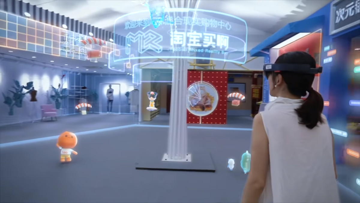 Alibaba showcase Microsoft's HoloLens in largest Mixed