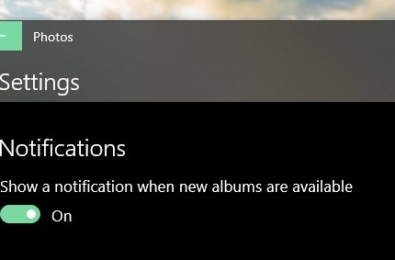 Microsoft Photos app will soon let you switch off Album Notifications, more 13