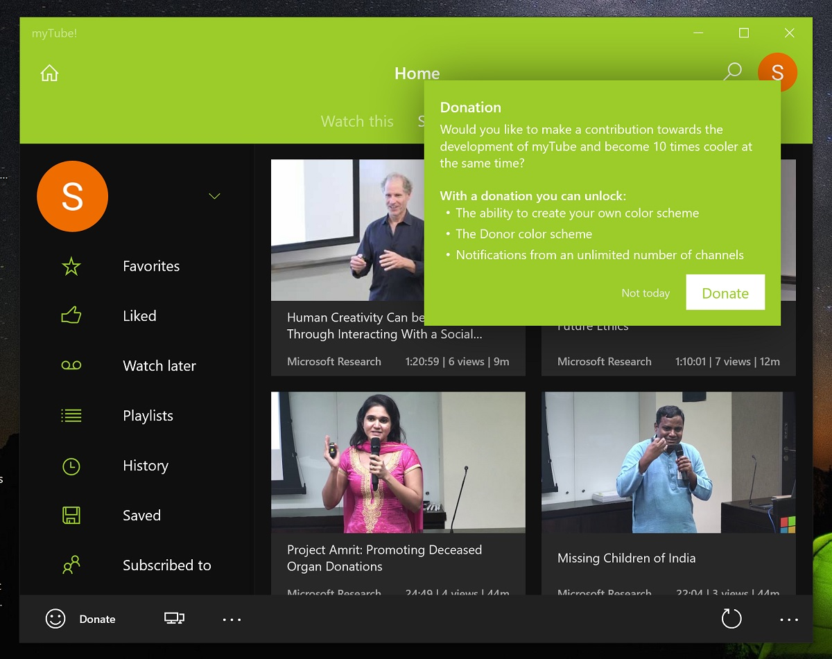 MyTube Windows 10 YouTube app free for a limited time - MSPoweruser