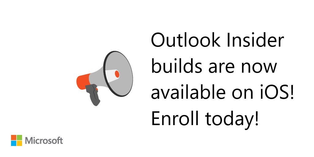 Office Insider Program now open for Outlook on iOS - spaces limited 1