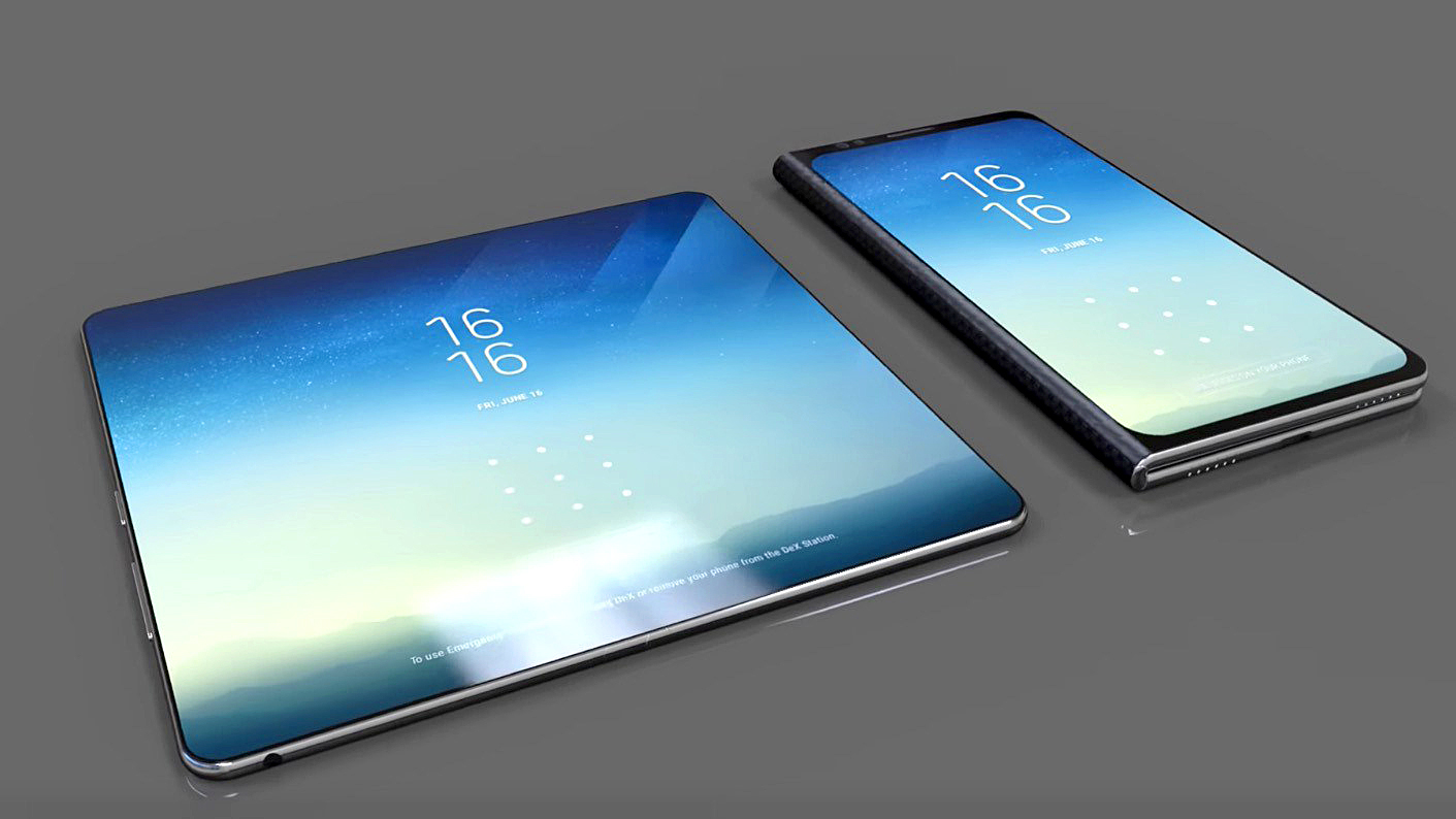 Patent Shows Off Samsung S Flexible Tablet Design