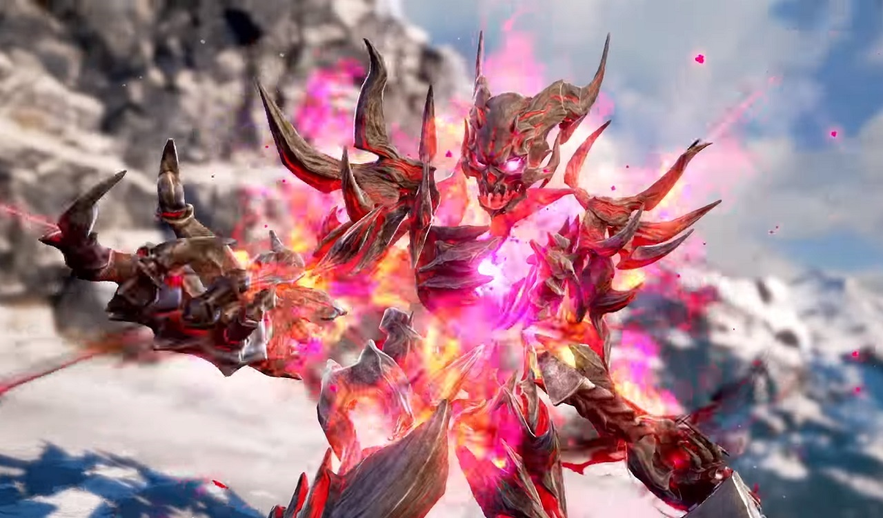 Recurring character Inferno returns for Soulcalibur 6