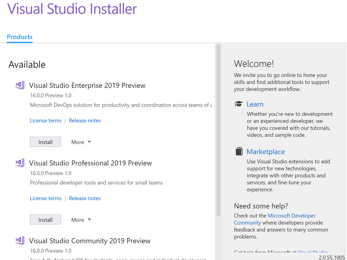 Microsoft removes green hat from Visual Studio 2019 installer after offending users in China 1