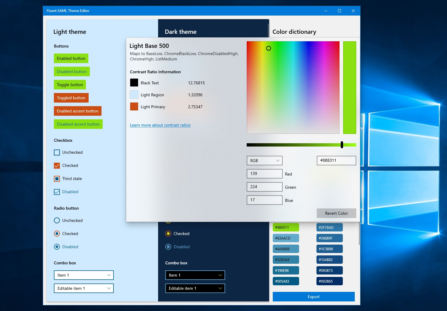 Developers: Microsoft has released Fluent XAML Theme Editor to the Microsoft Store