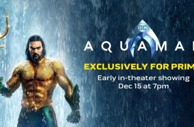 Amazon Prime members can watch Aquaman a week before the movie's release 5