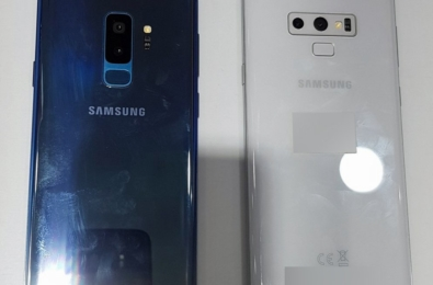 Samsung Galaxy S9 and Galaxy Note 9 leaks in Polaris Blue and Alpine White respectively 15