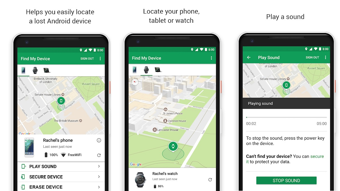 Google Find My Device Adds Support For Indoor Maps