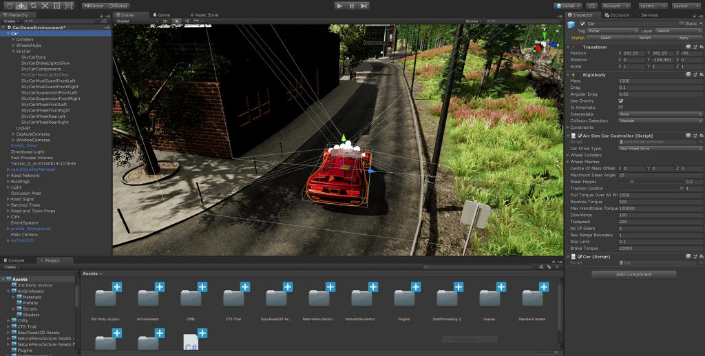 Microsoft brings the autonomous vehicle simulator AirSim to