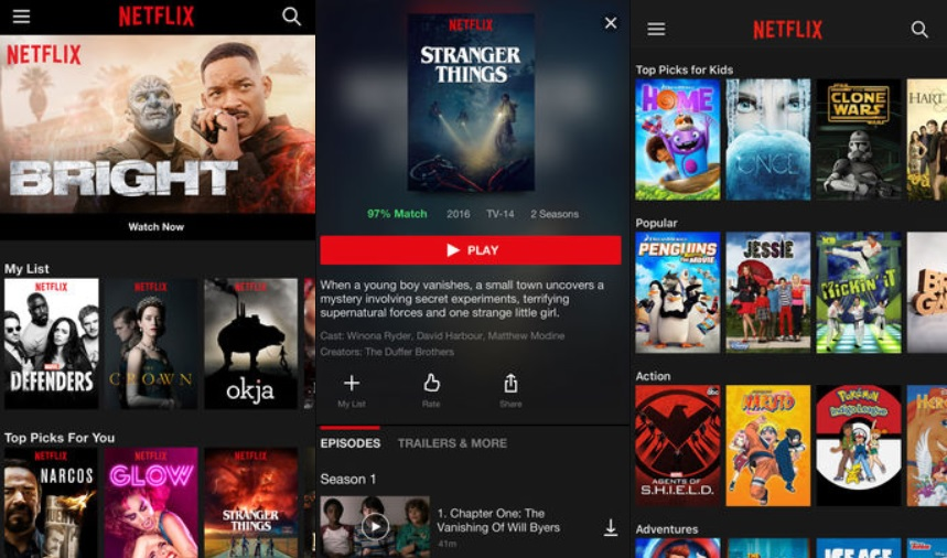 Netflix iOS app updated with improved playback controls and