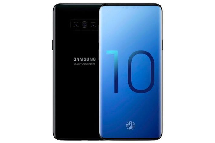 SAMSUNG GALAXY S10 PLUS LEAK