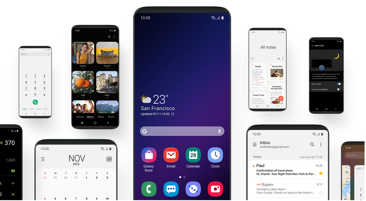 Samsung S One Ui Update Brings A Minimal Focused Interface To Android Mspoweruser