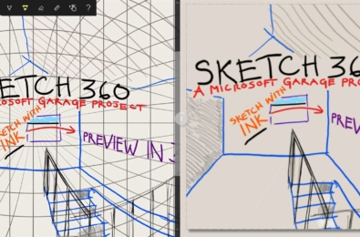 Microsoft Garage's new Sketch 360 app allows anyone to easily sketch and prototype 360 degree VR scenes 11