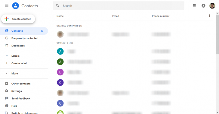 Google is retiring its old G Suite contacts app next year 1